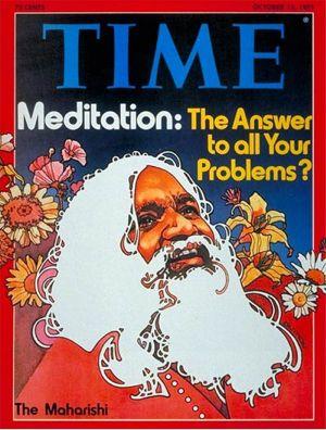 "Maharishi conquistò la copertina del""Time"" nel 1975"
